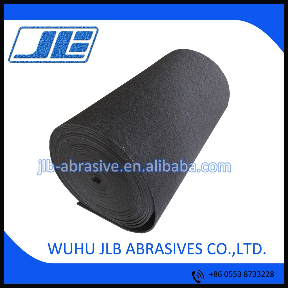 800# /Weight 1.2m/ Length 91.4m/ Grey color Abrasive Industrial Nylon Scouring Pad Rolls.