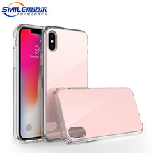 Fast delivery TPU+Acrylic case for iphone blank case 6 7 5 x