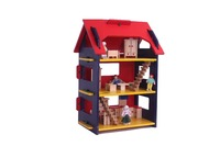 Hot selling wooden outdoor play house,toy educational