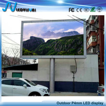 Full color high quality hd led display SMD led display module P4 led screen outdoor