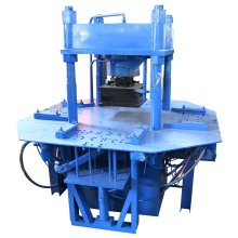 DY150T manual hydraulic press interlocking paver block making machine