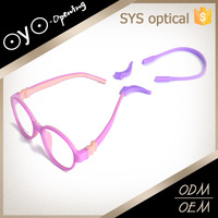 Wholesale newly beautiful hot sale silicone kids eyewear
