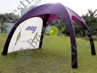 Inflatable Dome Shaped Spider Tent for Advertising