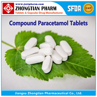 Compound Paracetamol Tablets GMP Drug Manufacturer