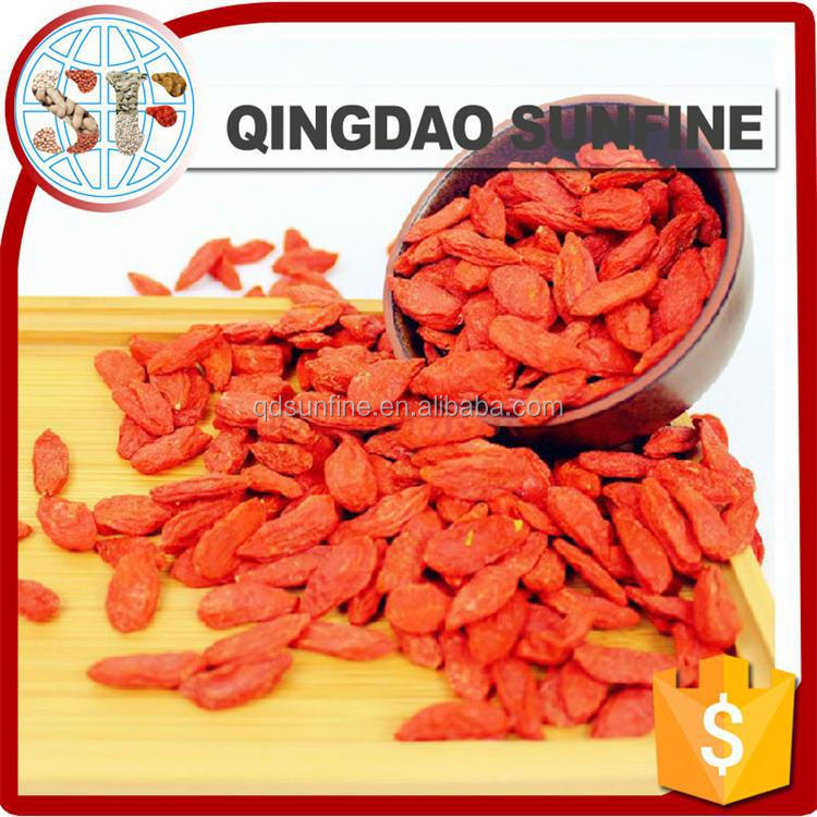 2016 crop Chinese dried goji berry price high quality