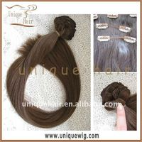 Indian remy virgin clip in hair extension