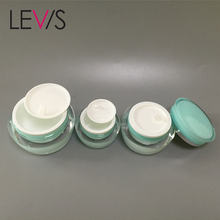 China 30g face cream cute cosmetic jars plastic packaging sample container