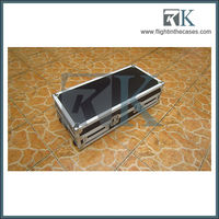 flightcase for DVD Phillps & mix board yamaha 102c & microphone & Sony blu ray player BDPS380