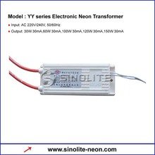 YY series Electronic Neon Transformer Neon Power Supply For Neon Tube