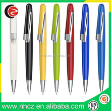 Color Cheap Promotional metal Ball Pen with Customized logo