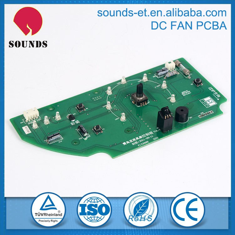 China reliable good quality DC cooling fan pcb
