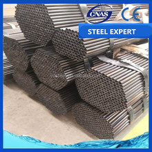 mild steel annealed black iron round pipe/tube extruded steel tube weight