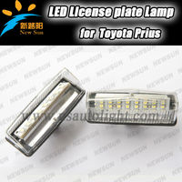 Direct Fit Led License Plate Light for Prius ZVW 30/NHW20 canbus license led Number plate light error free led tail bulb
