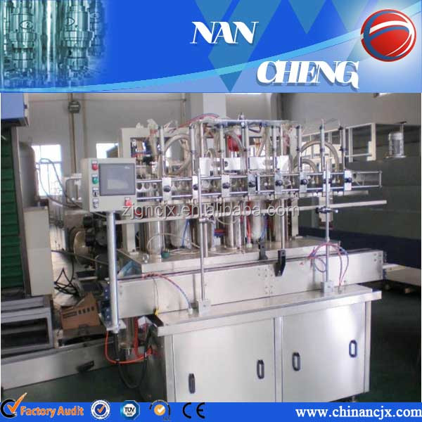 Automatic Sunflower Oil Filling And Packing Machine Coconut Oil Packing Machine