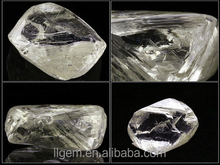 0.10 carat White Rough Diamond Synthetic White Diamond