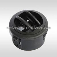 round black car air vent/auto air vent