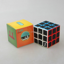 carbon fiber membrane three rank promotional magic cube for competition