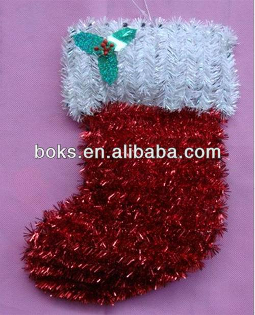 plastic Christmas tinset stock decorations