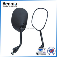 China supplier batch sale good quality very cheap universal motorcycle rearview glass , side mirror .