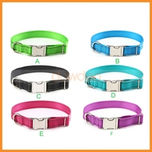 Engraved Metal Buckle Reflective Personalized Dog ID Collar