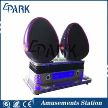 Immersive movies indoor cinema 9dvr egg simulator equipment for sale