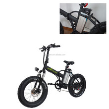 Fat tire high quality dirt bike 20inch electric folding scooter with lithium battery