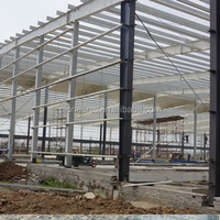 Design Manufacture Workshop Warehouse Steel Structure