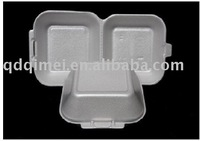 PS foam disposable degradable no harm food plastic tray