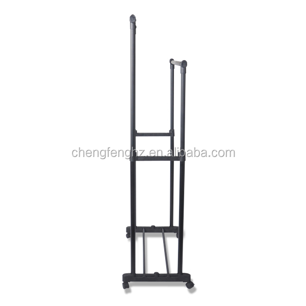 Indoor Garment Clothes Rack Pole Better Than 3 tier