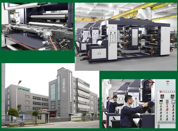 4/6/8 color PE/BOPP/PVC/PET plastic film flexo printing machine /printing press