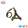 Fashion design factory wholesale dog harness and leash set