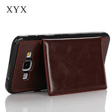 New cheap price leather case, for samsung galaxy a8 back cover, fancy cell phone cases for samsung galaxy a8