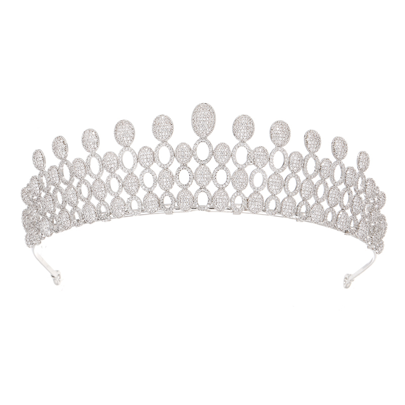 Beauty Pageant <strong>Crowns</strong> Real Diamond <strong>Crowns</strong> and Tiaras Wedding Hair Accessories