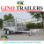 10x5ft DUAL AXLE GALVANISED BOX TRAILER with 300mm SIDES