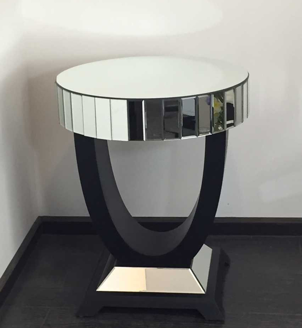 Best Price Cheap Mirrored Furniture Sale For Bathroom Mirrored Side Table Cheap/Mirror Home Decor