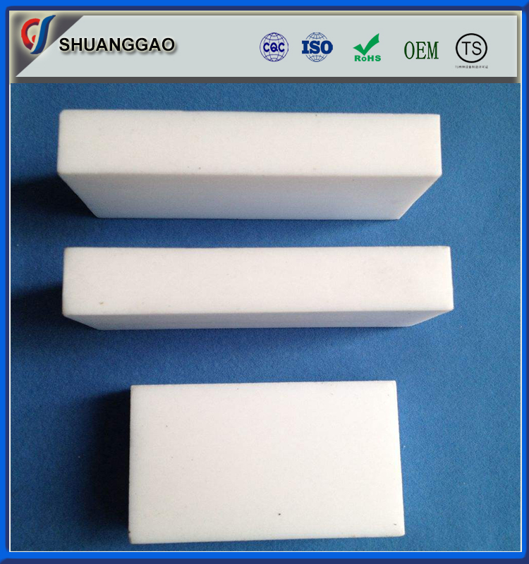 high quality customized ptfe teflon material bar plastic square rod