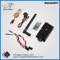 5.8G 32 Channels 400MW HD 1080P FPV Wireless Transmitter DVR Camera