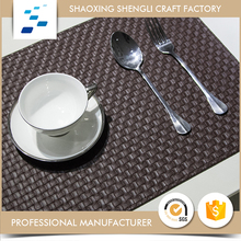 Manufacturer Free Sample heat proof oblong custom drink PVC coasters