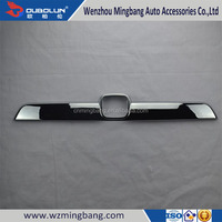 Cars Parts and Accessories Chrome rear trunk streamer For CRV 2009 car decoration