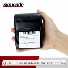 Symcode MJ-5890 58mm Bluetooth Thermal Receipt Printer Wireless Printer with USB interface