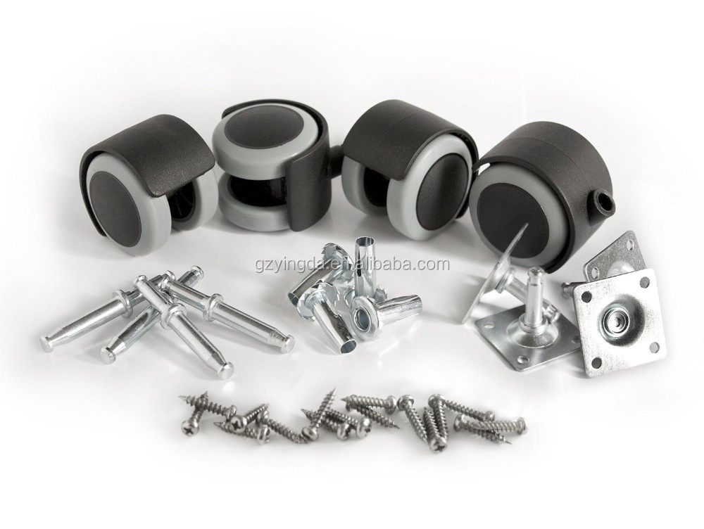 Suitcase caster wheels and swival caster wheel from chair caster manufacturer