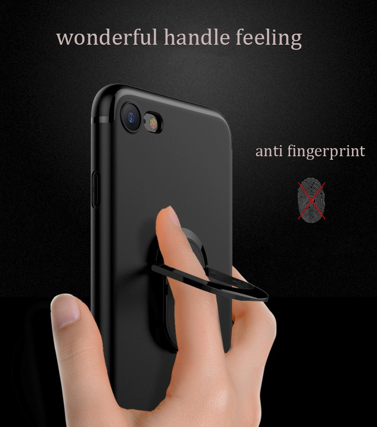 DFIFAN Fashion Mobile Phone Accessories Phone Case for Apple Iphone 7 /7 plus with finger ring holder back case for iphone 8