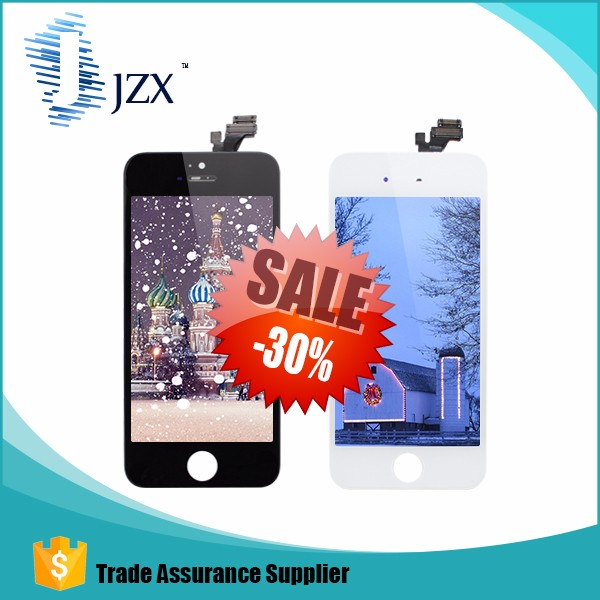 JZX original mobile phone lcd for iphone 5 lcd,for iphone 5 lcd,for iphone 5 screen