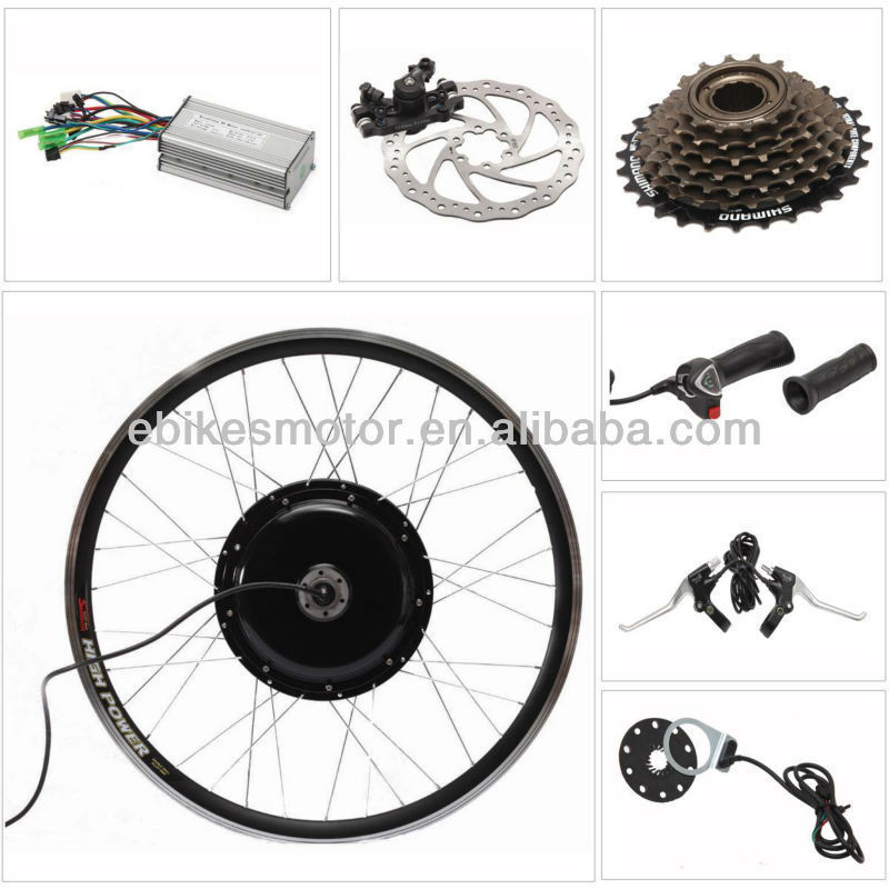 BLDC 48V 1000W Wheel Motor kit,push cart wheel