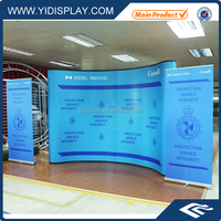 Magnetic pop up display stand/3x4 exhibition booth for advertising