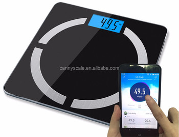 180kg bluetooth smart digital electronic body fat analysis bathroom scale