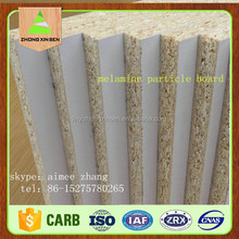 Linyi manufacture Melamined particle board for furniture