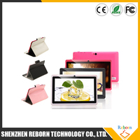 Q88 allwinner a33 7 inch 1024 x 600 8GB android 4.4 super smart tablet pc