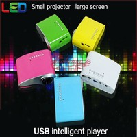 Native 480x320 Home Theater Cinema Pico Portable LED LCD TV Cheap 2014 Project Technology Led Mini Pocket Projector