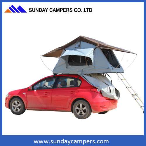 Family outdoor activity easy to install stylish custom travelling tent